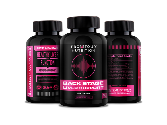 BACKSTAGE - Liver Support Detox, Cleanse & Maintain Your Liver - Milk Thistle Extract & Seed Complex – 60 tablets