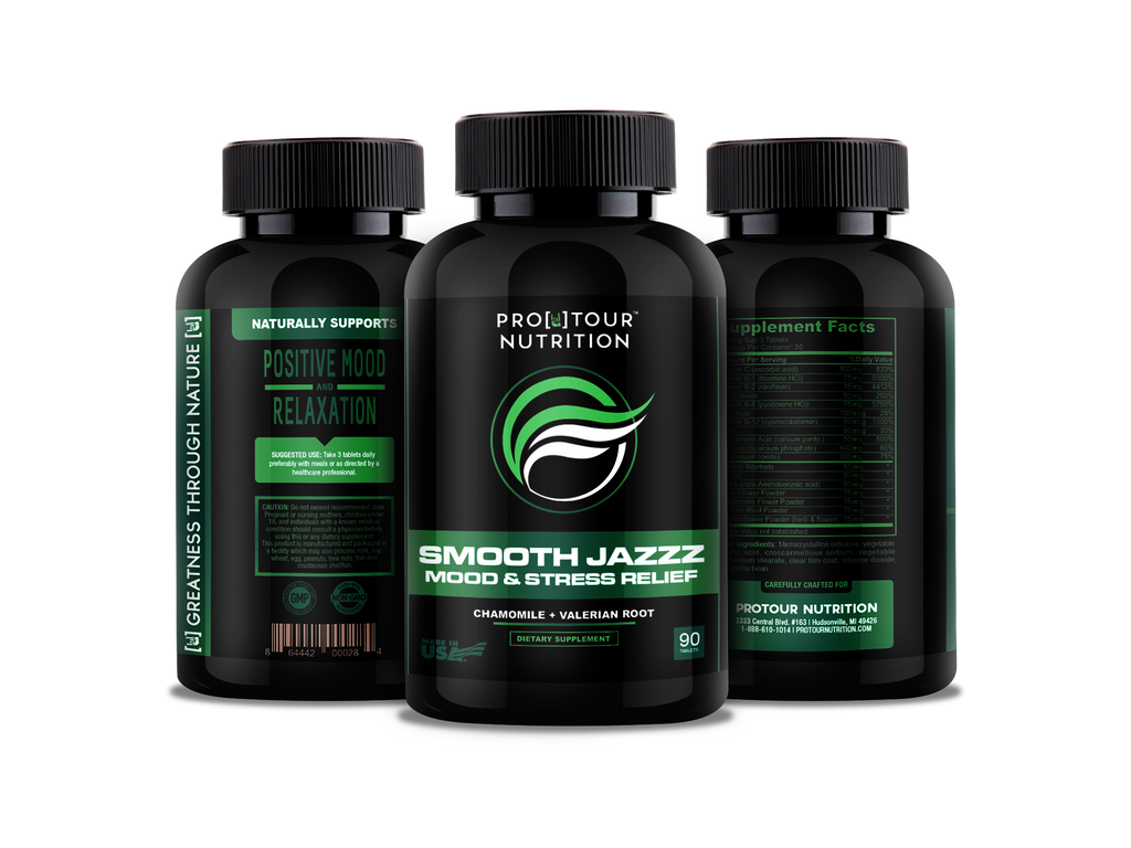 Smooth Jazzz Chillpill Anxiety Relief And Stress Support