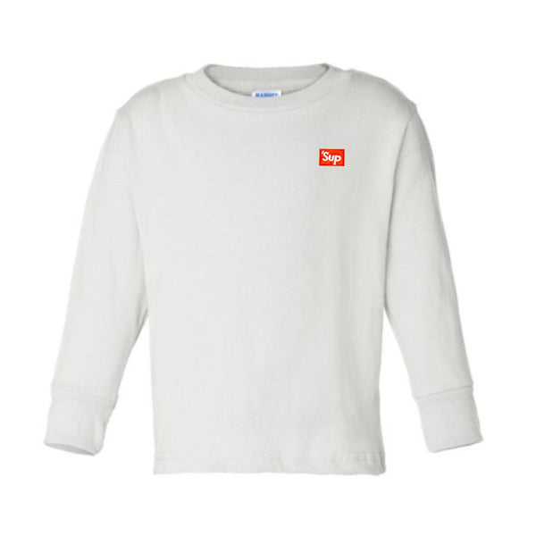'Sup Embroidered Long Sleeve T-shirt