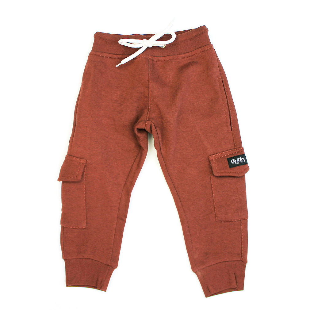 Fleece Cargo Sweatpant