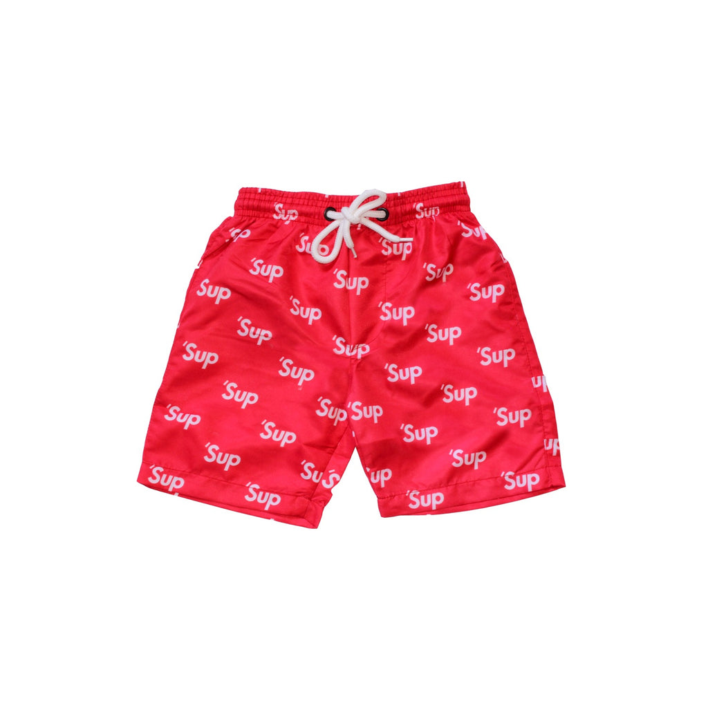 'Sup Swim Trunks