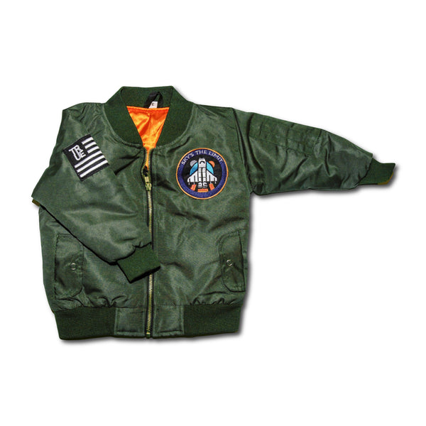 Sky's The Limit Flight Jacket