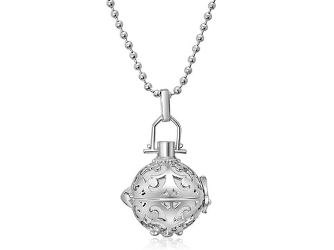 Silver Harmony Ball Necklace
