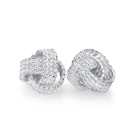 Knot Tennis Earrings