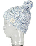 FLECKED CABLE BEANIE