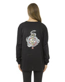 SNAKE CHARM LONG SLEEVE TEE