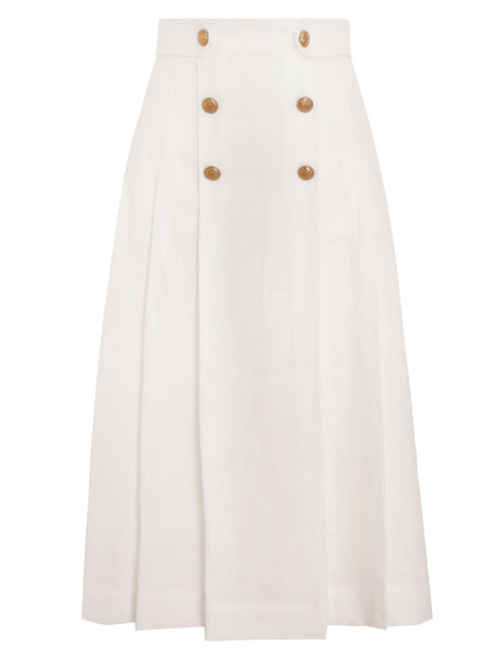 ZIMMERMANN The Lovestruck Buttoned Skirt