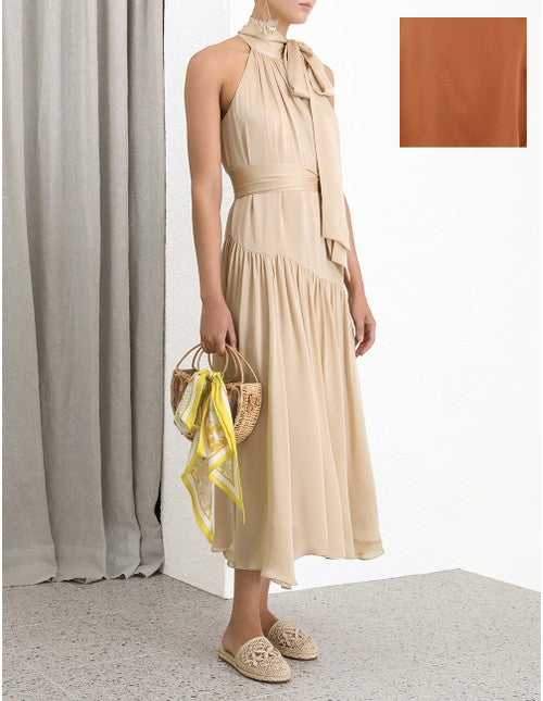 ZIMMERMANN Super Eight Swing Maxi (Sandalwood)