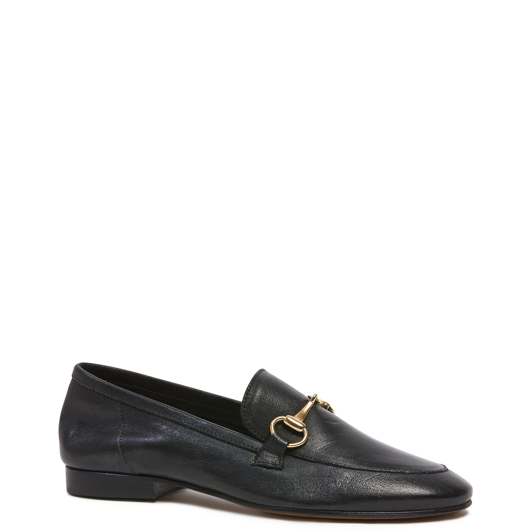 KATHRYN WILSON Leila Loafer (Black Calf)
