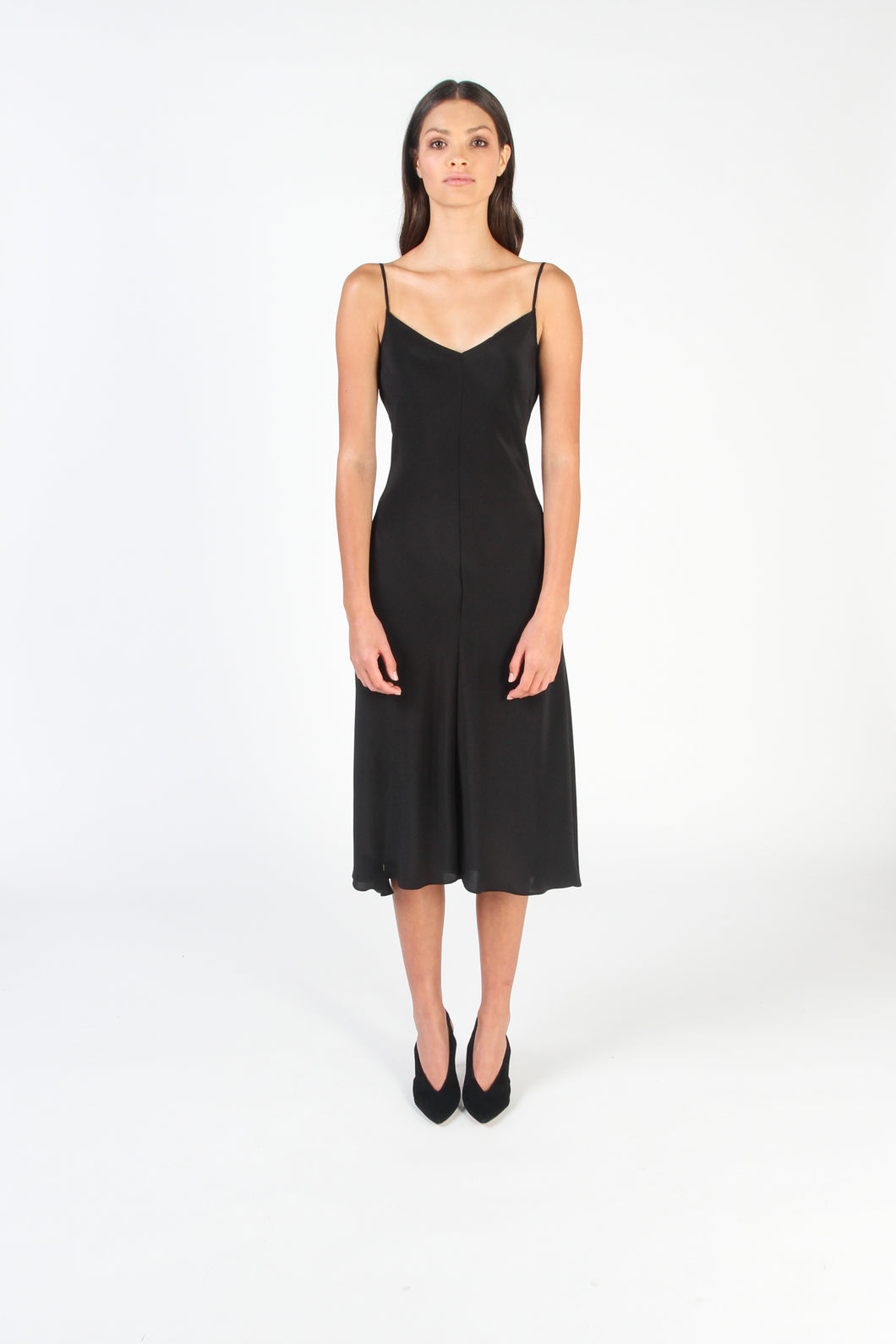 ESSK Slip Dress (Black)
