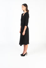 ESSK Wrap Dress (Black)