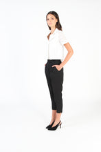 ESSK Tailored Pant NO.1 (Black Wool Suiting)