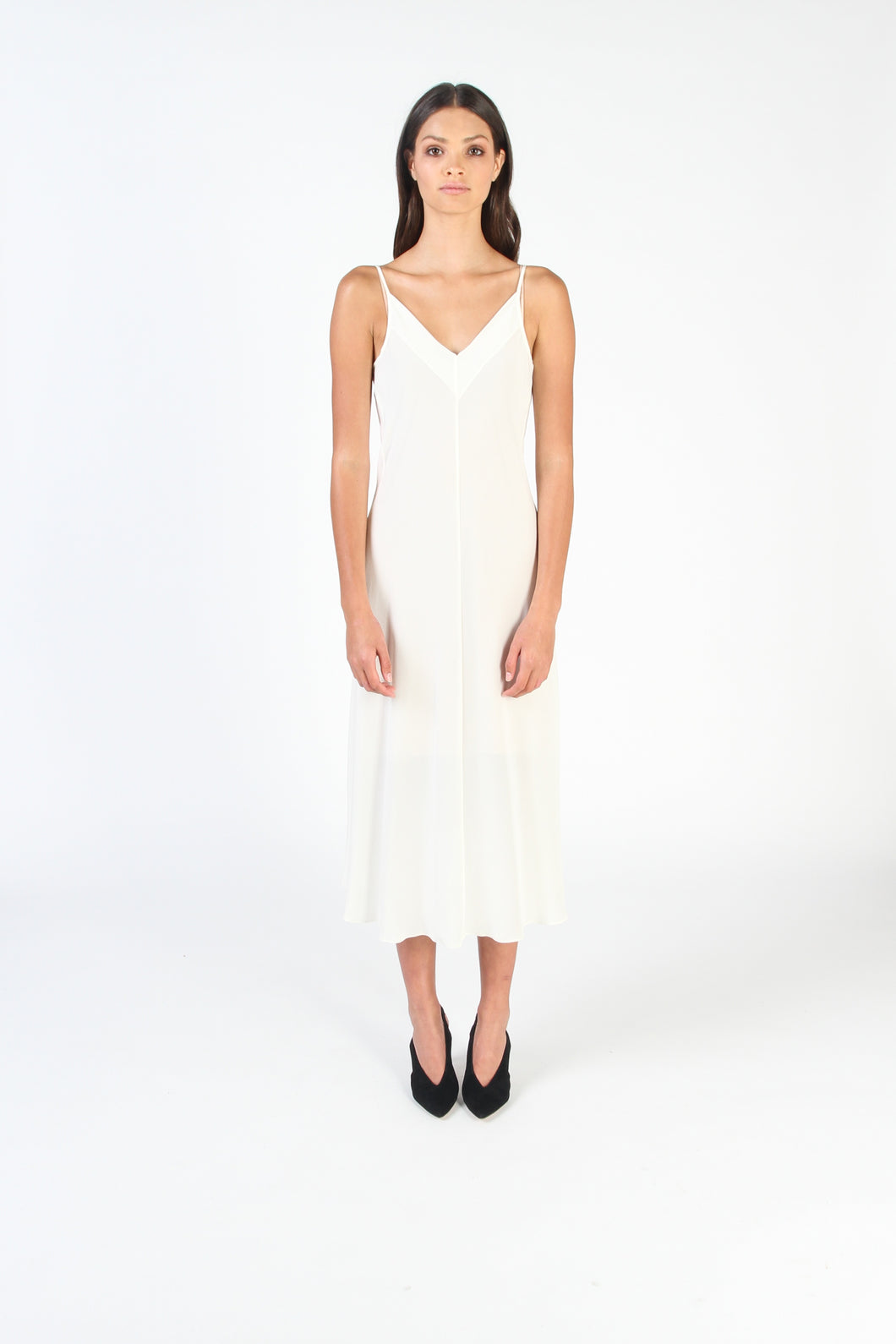ESSK Slip Dress (Cream)