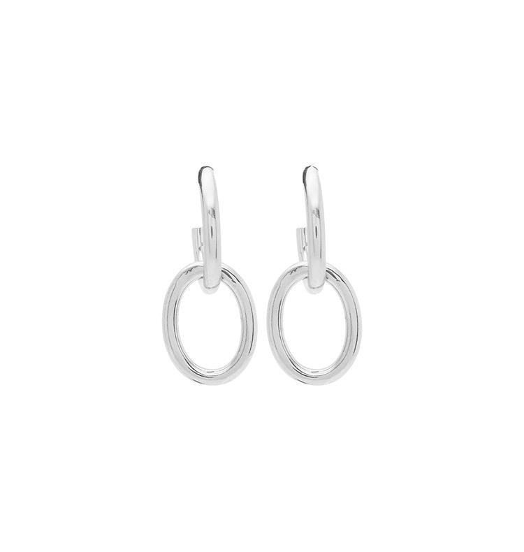 Rubie Earrings (Silver)