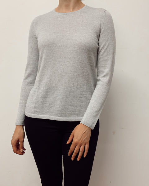 DUNE Crew Neck Jumper (Dove Grey)
