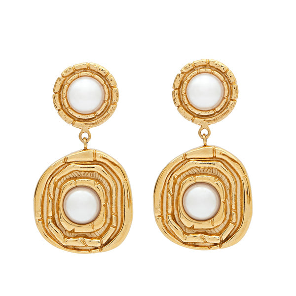 AMBER SCEATS Carmel Earrings (Gold)