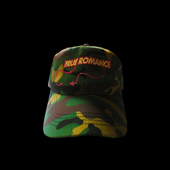 TRUE ROMANCE HORNED LOGO (CAMO CAP)