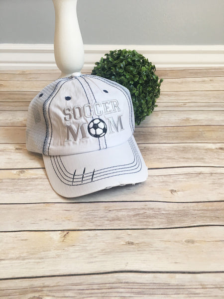 Blessed Soccer Mom Hat