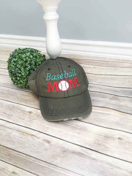Ice Skate mom cap, trucker hat, mama style hat, baseball cap, embroidered hat, mothers day gift, gift for mom, ice skating mom hat, mama hat