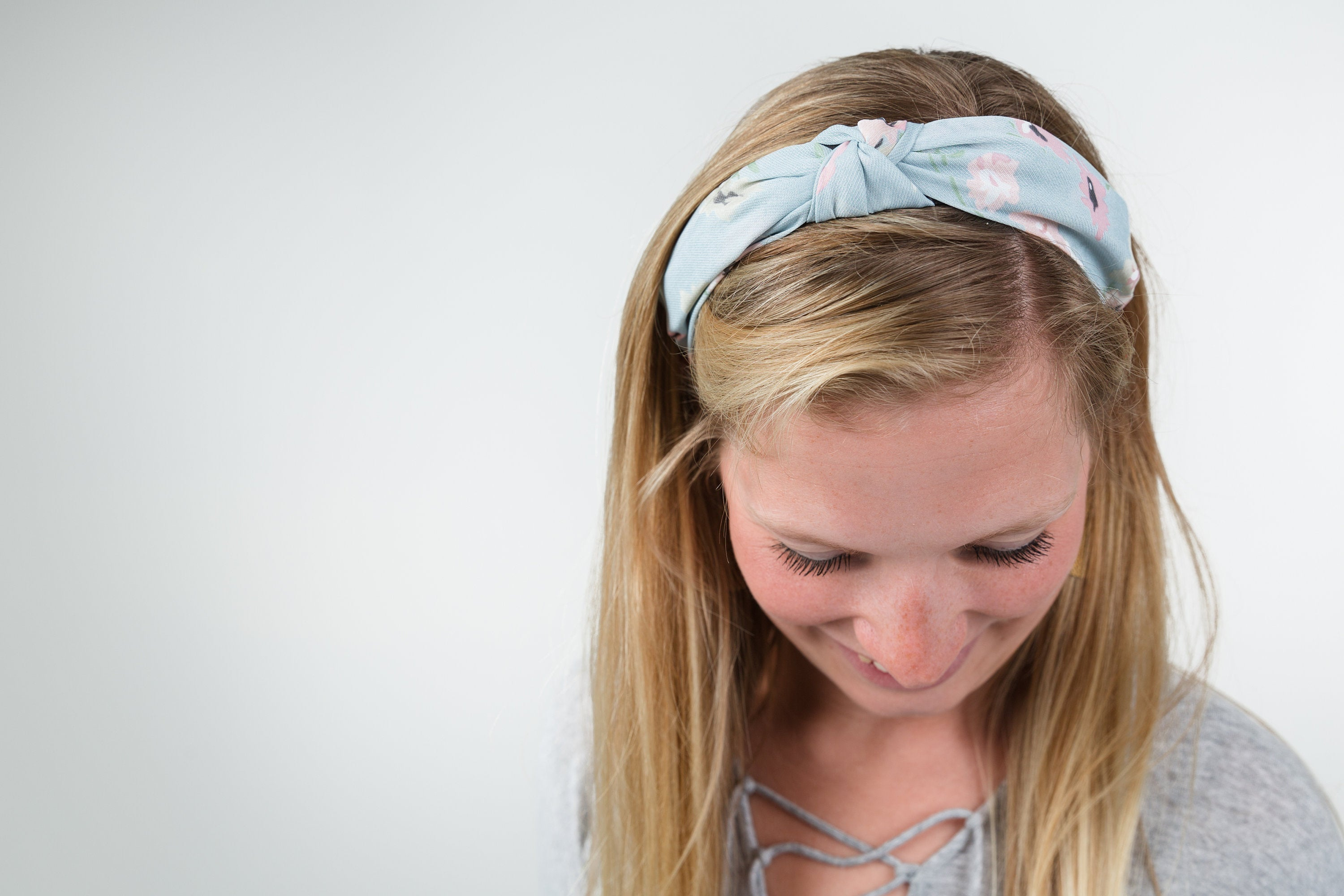 Leopard print knotted hard headband for girl, womens hard headband for women, beige knotted headband for women's headband, tan headband