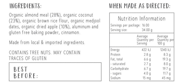 apple-bars-bake-at-home-mix-nutritional-information