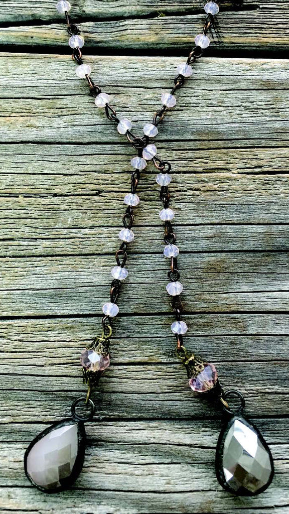 Savannah Pale Pink Necklace