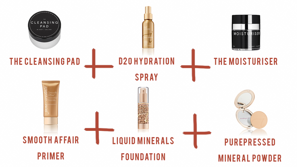 Jane Iredale products used for medium coverage for mature age skin | The Clinic