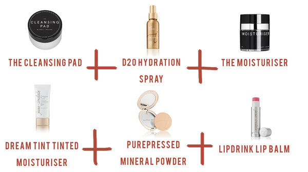 Jane Iredale products used for light coverage for breakout prone skin | The Clinic