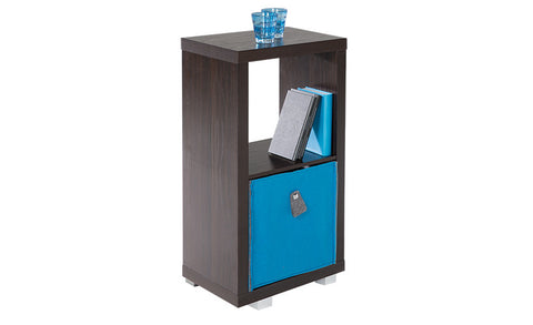 Cubo - 2x1 Bookshelf, black-brown - Designs By Phoenix - Furniture - 6