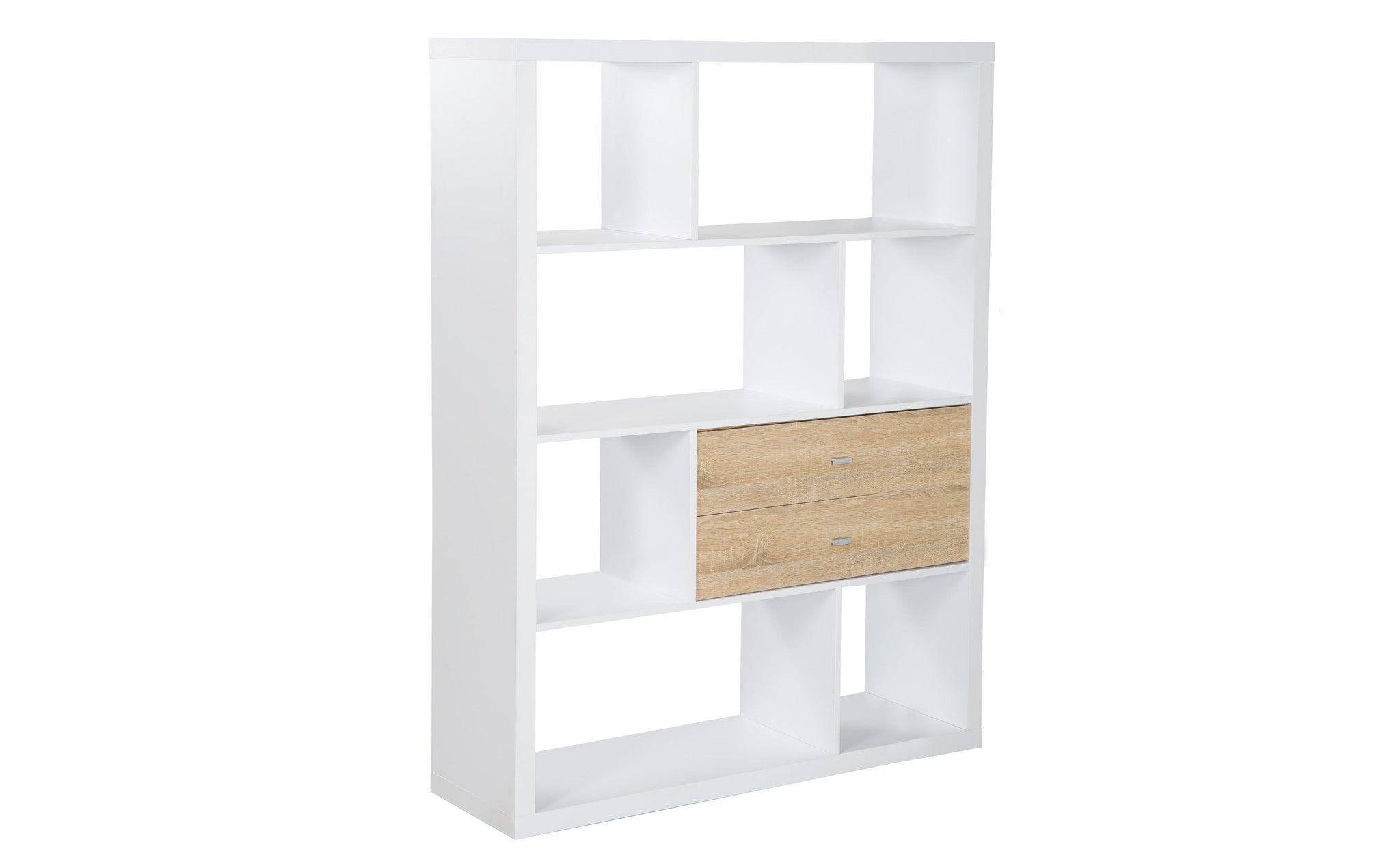 shipping furniture walnut america bookshelf modern wood aydan garden of home product room divider today free square overstock