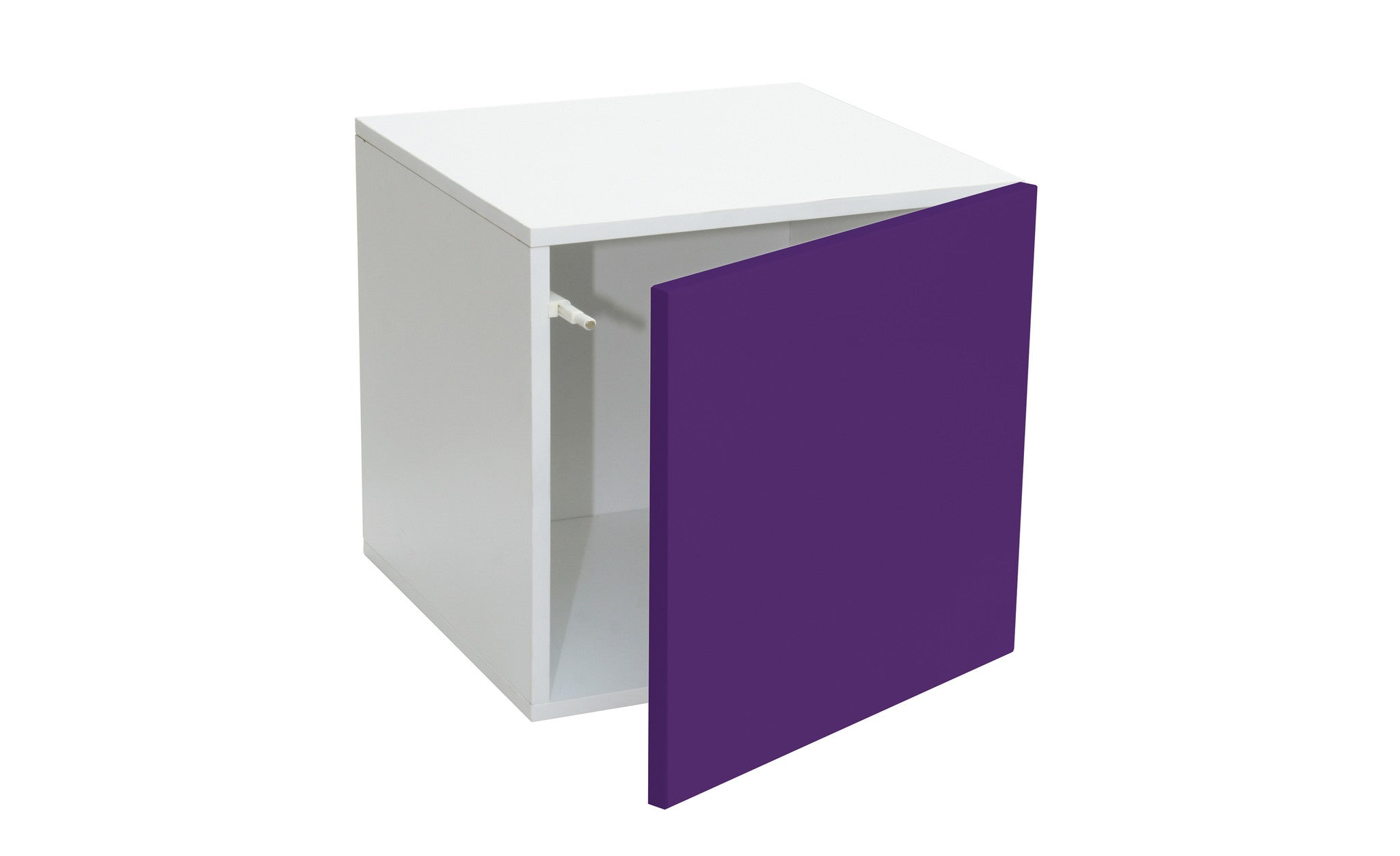Prana   Door Container With Purple High Gloss Finish, Push Open System    Designs By