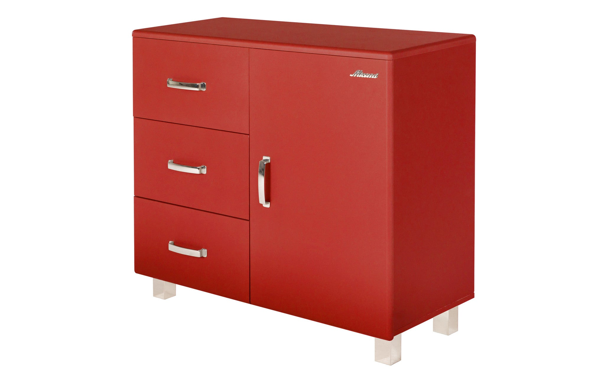 Miami Dresser With 1 Door With Soft Close And 3 Full Extension