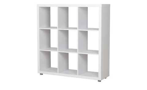 Caro - 3x3 Bookshelf / Room divider, white - Designs By Phoenix - Furniture - 1