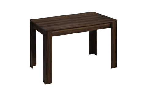 Casablanca - Dining Table 63.04x35.46 inch, dark brown veneer - Designs By Phoenix - Furniture