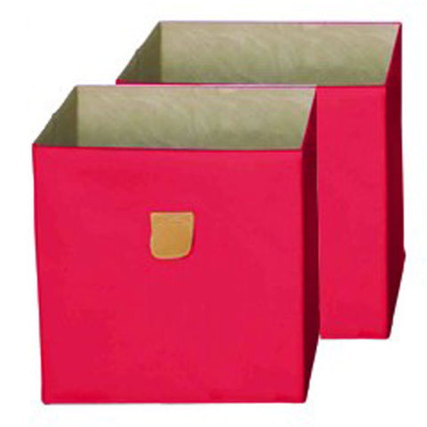 Stor' It - Storage Box, Set of 2, red