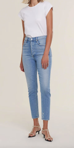 AGOLDE NICO JEANS IN EMBARK