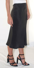 PW by PORTIA'S WILL LUCY SILK SLIP SKIRT