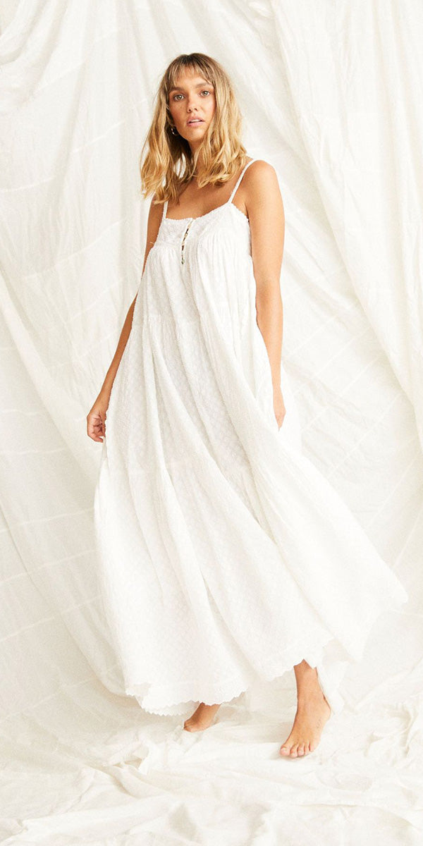 KINGA CSILLA WHITE NEROLI DRESS