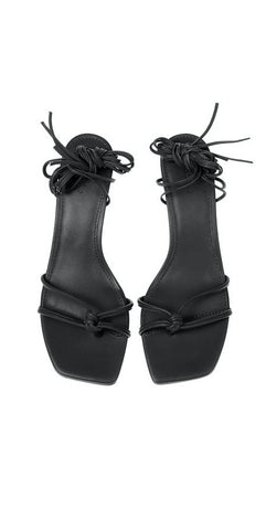 MARA & MINE OLYMPIA HEELS IN BLACK