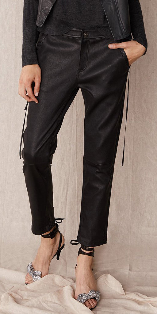 WEST 14TH BONDI SLOUCH LEATHER PANTS