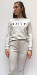 PW BY PORTIA'S WILL LOVE TRACK TOP