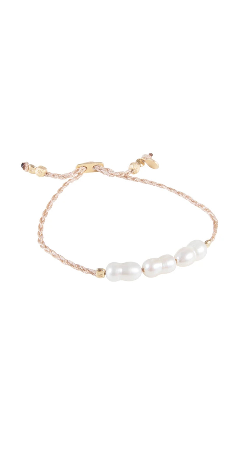 FAIRLEY RICE PEARL ROPE BRACELET