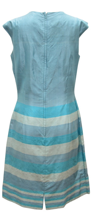 Vintage silk shift dress