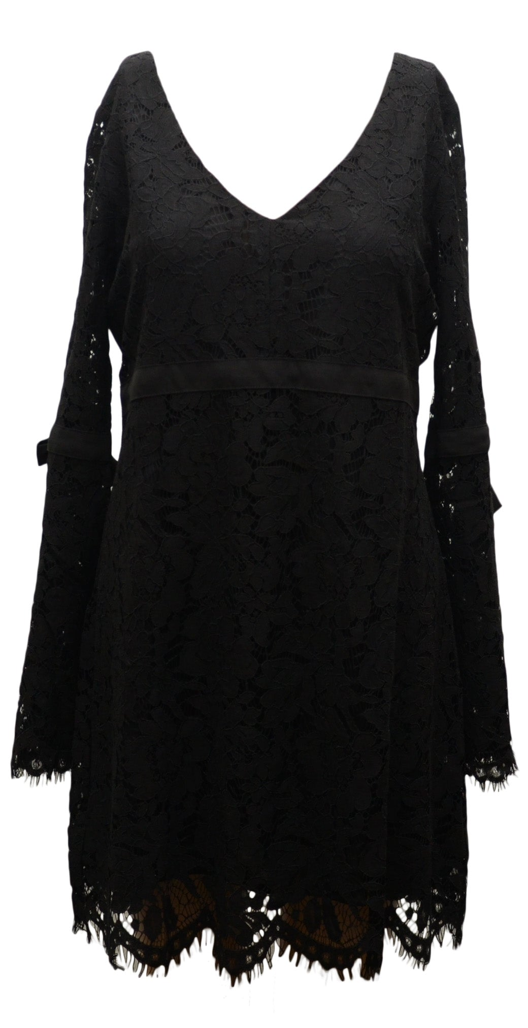 Chaser Lace Dress with Bows