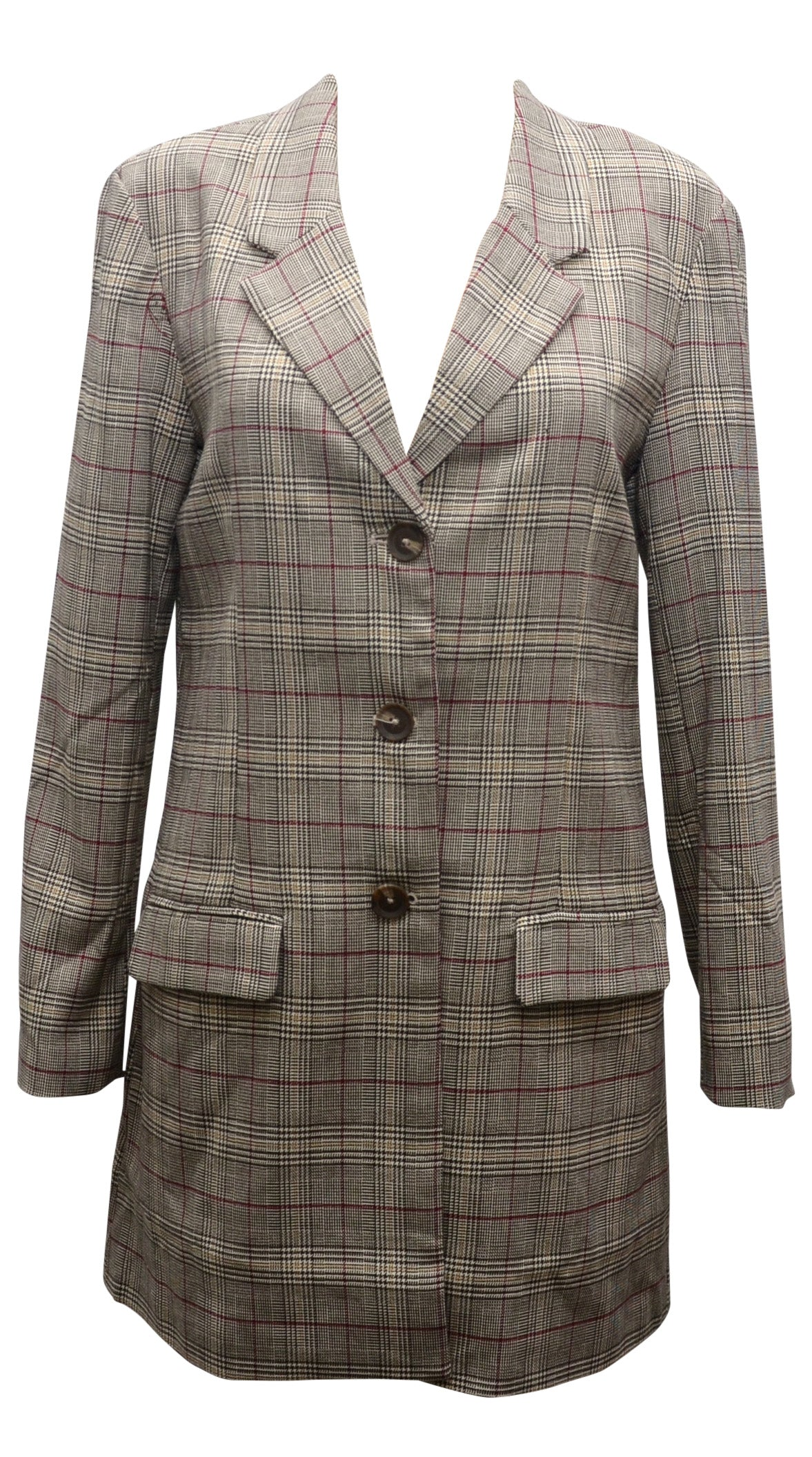 Plaid Blazer by BB Dakota