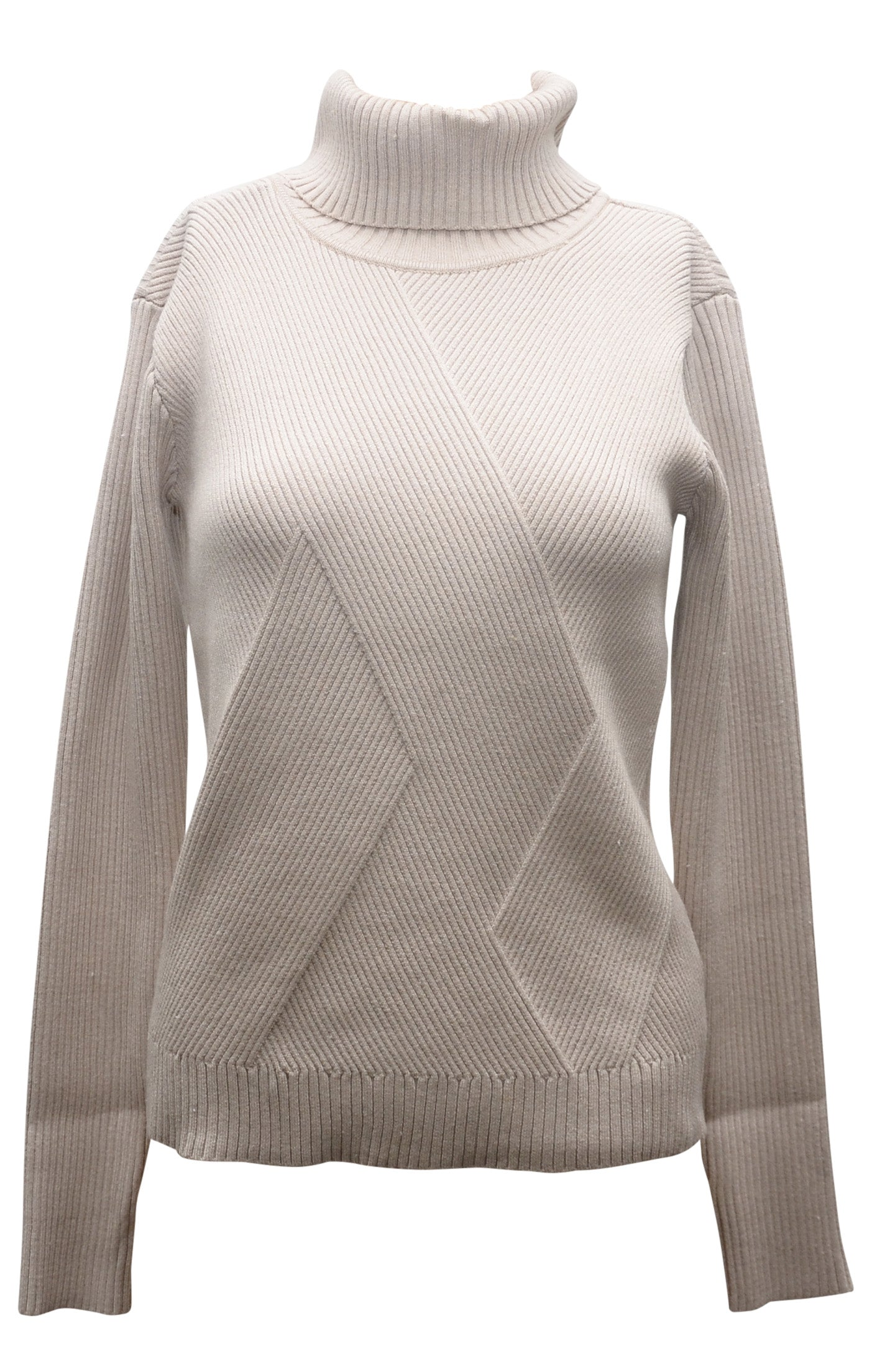 Beige Turtleneck by JOA