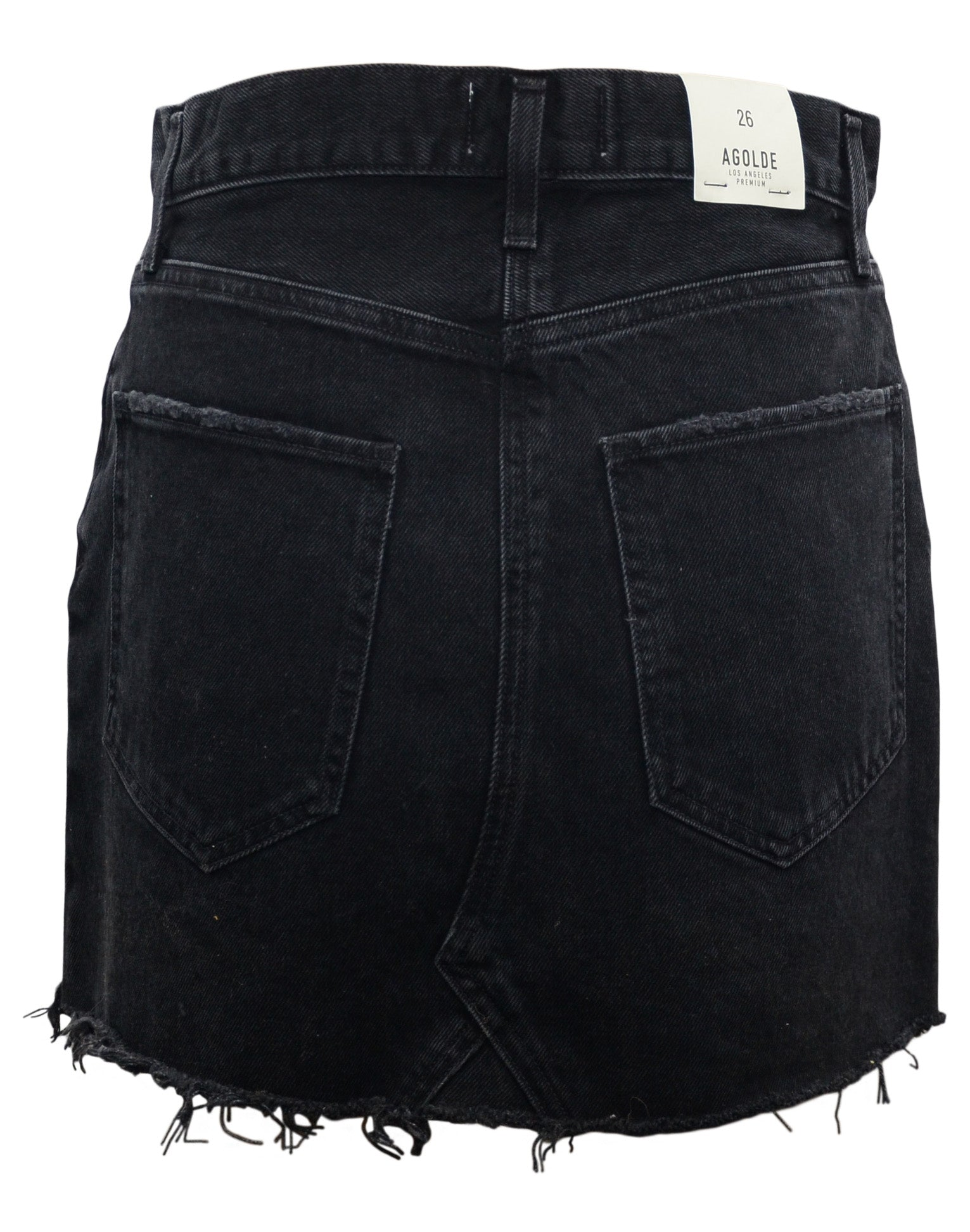 Agolde Quinn Denim skirt in Cult