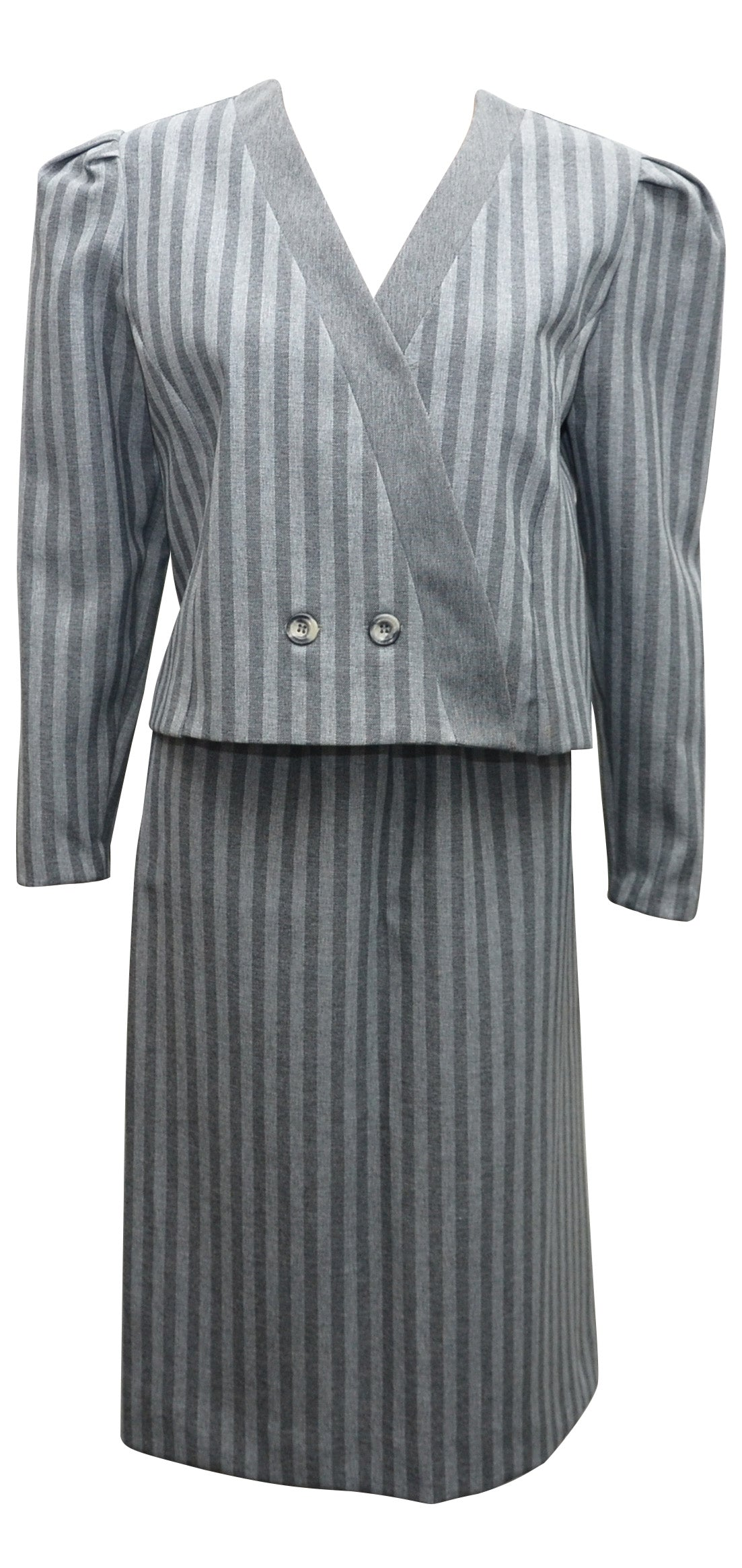 Two Piece Skirt Suit
