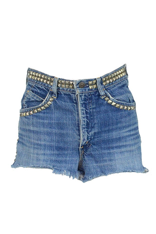 Denim Levi Studded Cut-offs