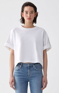 Boxy T in White